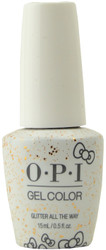 OPI GelColor Glitter All the Way (UV / LED Polish)