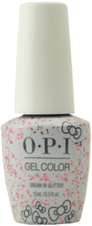 OPI GelColor Dream in Glitter (UV / LED Polish)