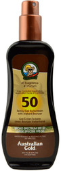 Australian Gold SPF 50 Spray Gel Sunscreen with Instant Bronzer (8 fl. oz. / 237 mL)