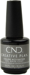 CND Creative Play Gel Polish Color Activator Gel Base Coat (UV / LED Polish)