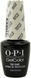 OPI GelColor Matte Top Coat (UV / LED Polish)