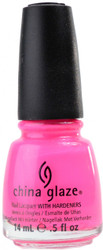 China Glaze Pink Voltage (Neon) nail polish