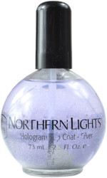 INM Out The Door Hologram Silver Top Coat (2.5 fl. oz. / 73 mL)
