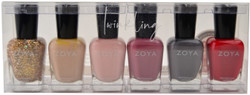 Zoya 6 pc Twinkling Collection A