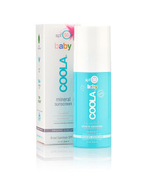Coola Sunscreen Mineral Baby SPF 50 Unscented Sunscreen & Moisturizer (3 fl. oz. / 90 mL)