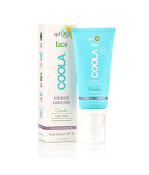 Coola Sunscreen Mineral Face SPF 30 Cucumber Matte Finish Sunscreen (1.7 fl. oz. / 50 mL)