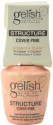 Gelish Structure Cover Pink Gel Brush-On (0.5 fl. oz. / 15 mL)