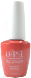 OPI Gelcolor Mural Mural on the Wall (UV / LED Polish)