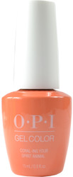 OPI Gelcolor Coral-ing Your Spirit Animal (UV / LED Polish)