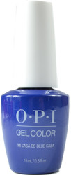 OPI Gelcolor Mi Casa Es Blue Casa (UV / LED Polish)