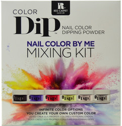 Red Carpet Manicure Colour Dip Color By Me Mixing Kit