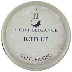 Light Elegance Iced Up Glitter Gel (UV / LED Gel)