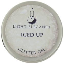 Light Elegance Iced Up Glitter Gel (UV / LED Gel)