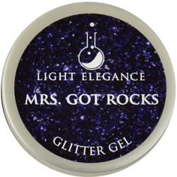 Light Elegance Mrs. Got Rocks Glitter Gel (UV / LED Gel)