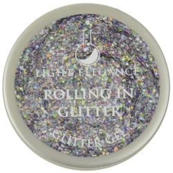 Light Elegance Rolling in Glitter Glitter Gel (UV / LED Gel)