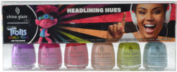 China Glaze 6 pc Trolls World Tour Collection Mini Set