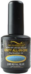 Bio Seaweed Gel Royal Blue Unity All-In-One (UV / LED Polish)