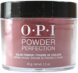 OPI Powder Perfection Chick Flick Cherry