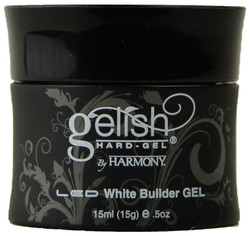 Gelish White Hard-Gel Builder Gel (0.5 fl. oz. / 15 mL)
