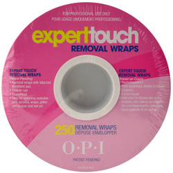 OPI 250 Pack Expert Touch Removal Wraps