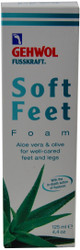 Gehwol Soft Feet Foam - Aloe Vera & Olive (4.4 oz. / 125 mL)