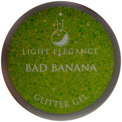 Light Elegance Bad Banana Glitter Gel (UV / LED Gel)