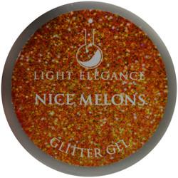 Light Elegance Nice Melons Glitter Gel (UV / LED Gel)