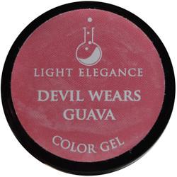 Light Elegance Devil Wears Guava Color Gel (UV / LED Gel)