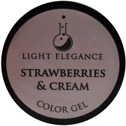 Light Elegance Strawberries & Cream Color Gel (UV / LED Gel)