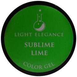 Light Elegance Sublime Lime Color Gel (UV / LED Gel)
