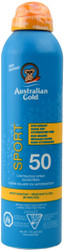 Australian Gold SPF 50 Continuous Spray Sunscreen Sport (6 oz. / 170 g)