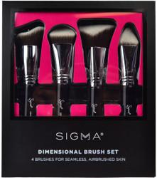 Sigma Beauty 4 pc Dimensional Brush Set
