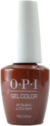 OPI Gelcolor My Italian is a Little Rusty (UV / LED Polish)
