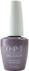OPI Gelcolor Addio Bad Nails, Ciao Great Nails (UV / LED Polish)