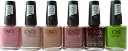 CND Vinylux 6 pc Autumn Addict Collection