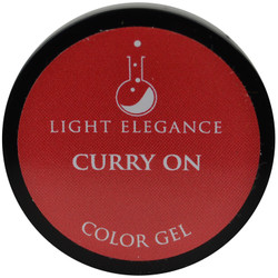 Light Elegance Curry On Color Gel (UV / LED Gel)
