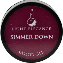Light Elegance Simmer Down Color Gel (UV / LED Gel)