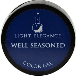 Light Elegance Well Seasoned Color Gel (UV / LED Gel)