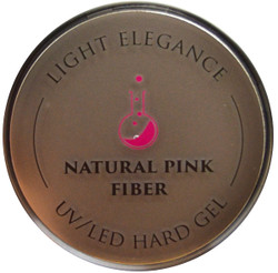 Light Elegance Natural Pink Fiber Lexy Line UV / LED Hard Gel Builder (1.01 fl. oz. / 30 mL)