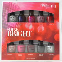 OPI 10 pc Shine Bright Mini Set