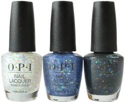 OPI 3 pc Shine Bright Limited Edition Trio