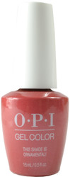 OPI Gelcolor This Shade Is Ornamental!