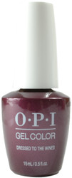 OPI Gelcolor Dressed To The Wines