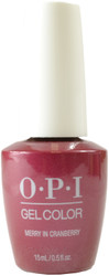OPI Gelcolor Merry In Cranberry