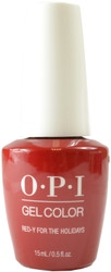 OPI Gelcolor Red-y For The Holidays