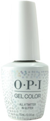 OPI Gelcolor All A'Twitter In Glitter