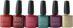 CND Shellac 6 pc Cocktail Couture Collection