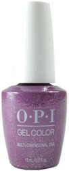 OPI Gelcolor Multi-dimensional Diva (UV / LED Polish)