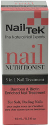 Nail Tek Nail Nutritionist - 5 in 1 Nail Treatment (0.5 fl. oz. / 14 mL)