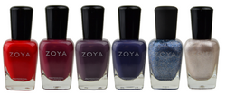 Zoya 6 pc Intriguing Collection B